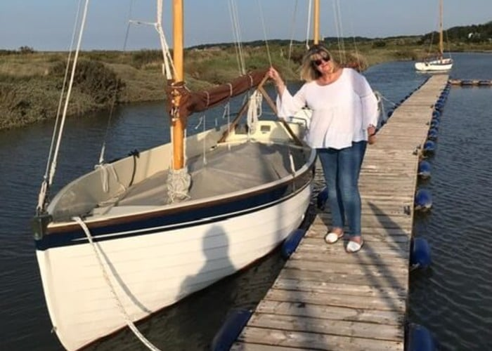 sue and boat